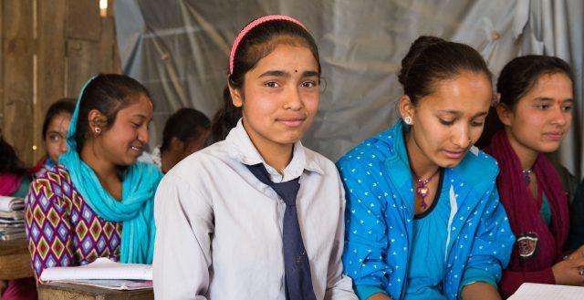 Classroom in Nepal. Photo: Plan International