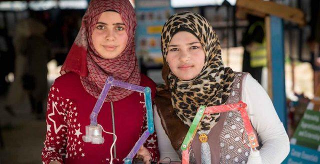 Adolescent girls in Jordan. Photo: UNICEF USA