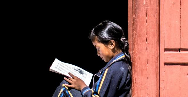 Nepali girl. Credit ADB CC