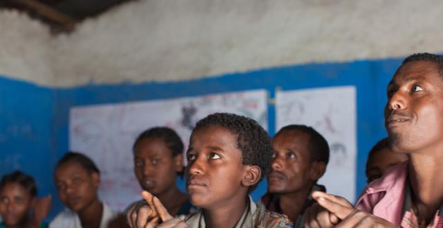 Special needs class, Ethiopia. Nathalie Bertrams