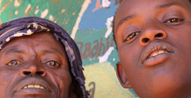 Father and son in Ethiopia. Photo: David Walker/Overseas Development Institute.