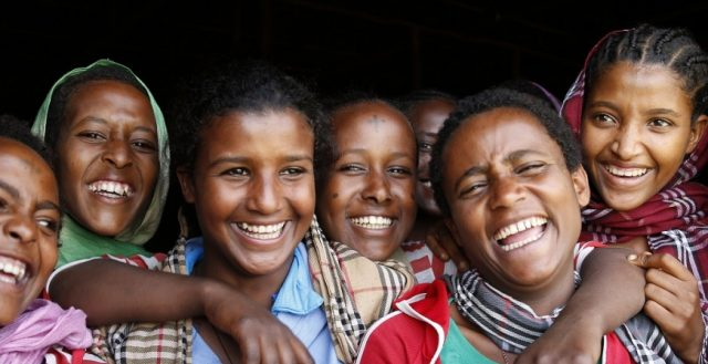 Girls supported to stay in school to prevent child marriage, Ethiopia. Photo: Jessica Lea/DfID