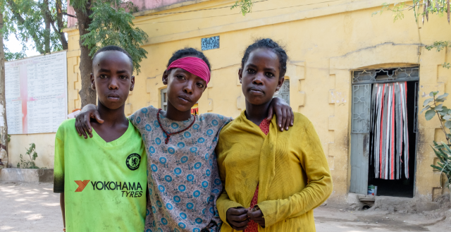 Adolescents from Batu, Ethiopia. Photo: Nathalie Bertrams/GAGE