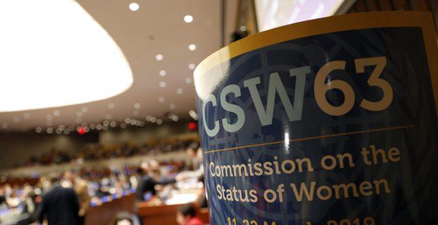 CSW63 Closing Session. Photo: UN Women/Ryan Brown