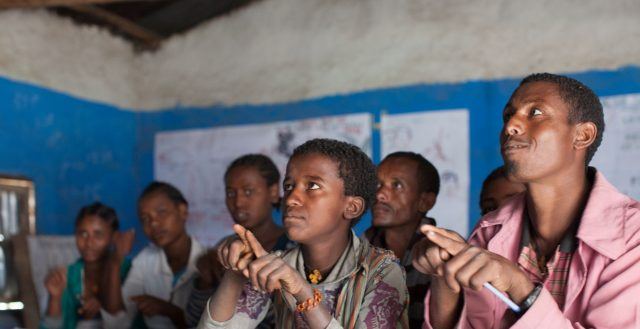 Special needs class, Ethiopia. Photo: Nathalie Bertrams/GAGE 2018