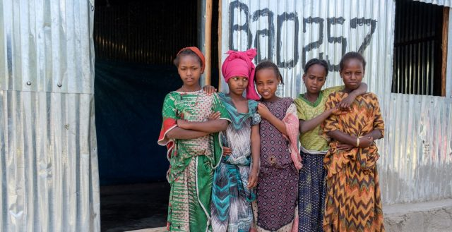 Adolescent girls in Ethiopia. Photo: Nathalie Bertrams/GAGE 2019
