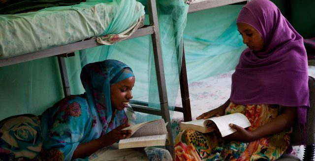 Rasso Abdella studying at the girls hostel in Dire Dawa. Photo: UNICEF Ethiopia/Getachew