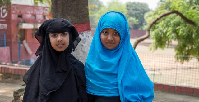 Young adolescent students of a madrasa in Dhaka, Bangladesh. Photo: Nathalie Bertrams/GAGE