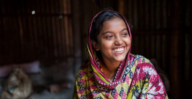 18-year-old married girl in Chittagong, Bangladesh. Photo: Nathalie Bertrams/GAGE