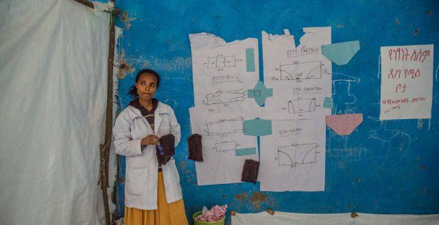 Girls' room in Ebenat primary school, Ethiopia. Photo: Nathalie Bertrams/GAGE