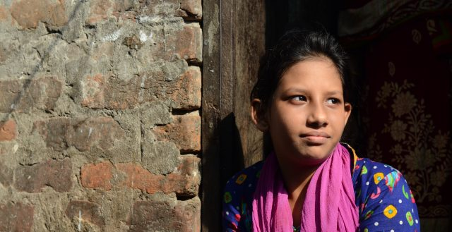 Adolescent girl in Bangladesh. Photo: Nathalie Bertrams/GAGE
