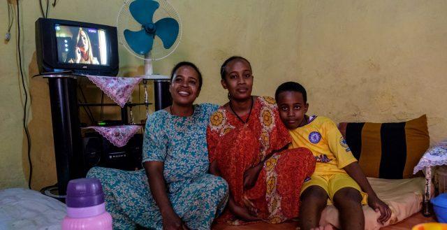 Family in Ethiopia. Photo: Nathalie Bertrams/GAGE