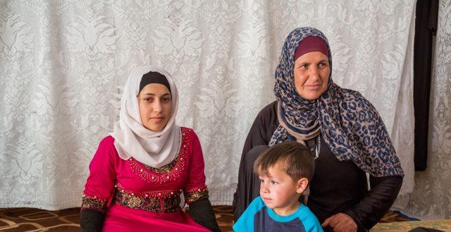 Adolescent Syrian girl in an informal tented settlement in Jordan. Photo: Nathalie Bertrams/GAGE