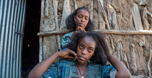 15-year-old girl who was married when she was 12 in Amhara, Ethiopia. Photo: Nathalie Bertrams/GAGE