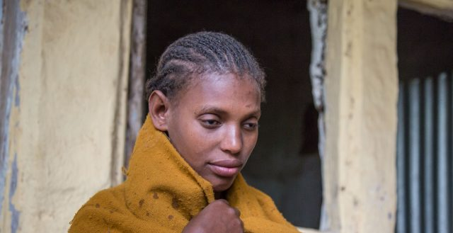 An adolescent girl who is blind in Amhara, Ethiopia. Photo: Nathalie Bertrams/GAGE 2020