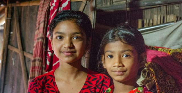 Young adolescent girls in Chittagong, Bangladesh © Nathalie Bertrams / GAGE