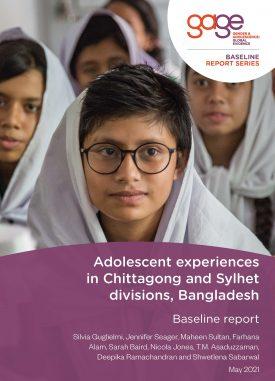 Girls at school in Chittagong, Bangladesh © Nathalie Bertrams/GAGE 2021