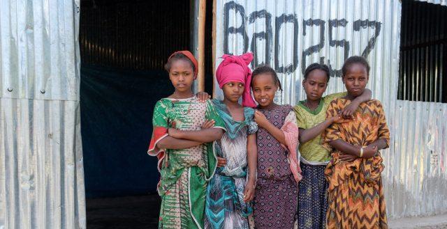 Adolescent internally displaced girls in Ethiopia © Nathalie Bertrams/GAGE
