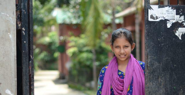Young girl in Bangladesh Ⓒ Marcella Pasotti